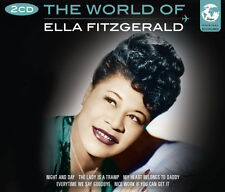 The World Of Ella Fitzgerald Songs 2 CD 1950s Music