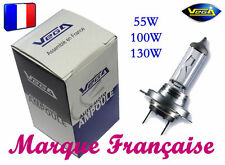 "10 AMPOULES HALOGENE VEGA® ""MAXI"" MARQUE FRANCAISE H3 55W AUTO MOTO PHARE"