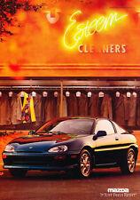 1992 Mazda Mx-3 GS 2-page  - Classic Car Advertisement Print Ad J91