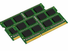 NEW! 8GB (2X4GB) MEMORY 512X64 PC3-8500 DDR3-1066MHz 1.5V 204 PIN SO DIMM