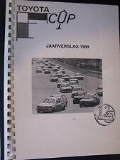 Toyota Jaarverslag Toyota Starlet Cup 1989 (Nederlands)