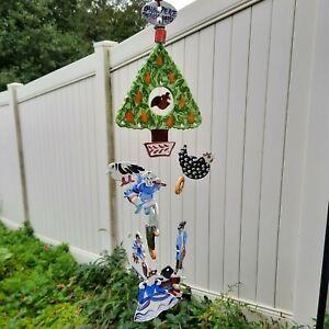 Vintage Baum-Pierce Studios Art Pottery 1970/1996 12 Days of Christmas