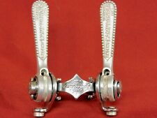 Excellent Vintage Campagnolo #1014 Nuovo / Super Record Shifters Levers Clamp-on