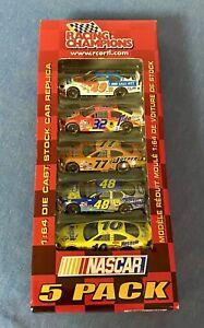 XRARE 1:64 NASCAR 5 PACK Sponge Bob Jasper Fast Furious Tide Nesquik ATT