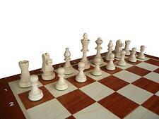 Schach; Turnier - Schachspiel Staunton Nr. 6A, 53 x 53 cm KH 10 cm Holz