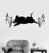 Vinyl Wall Decal Wild Boar Hunting Shop Hunter Stickers Murals (ig4670)