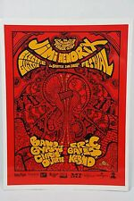 Jimi Hendrix Guitar Festival Poster from Seattle on January 8 1997