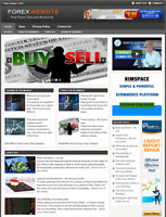 Forex Trading Website Business for sale - Work From Home Online Business