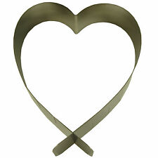 Springformen aus Edelstahl mit Herz-Schliffform