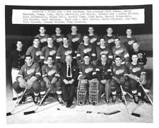 1953-1954 DETROIT RED WINGS HOCKEY TEAM 8x10 PHOTO STANLEY CUP CHAMPIONS