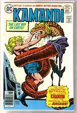KAMANDI #48 Fearsome Fangs of Sacker! DC Comic Book ~ VF/NM