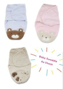 Cozy Life Baby Swaddle Thick Cute Sherpa Fleece baby Swaddle for winter