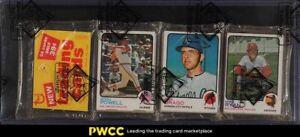 1973 Topps Baseball 39 cent Rack Pack, BBCE Auth