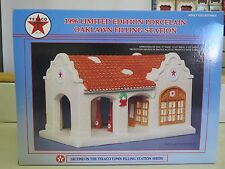 TEXACO Limited Edition PORCELAIN OAKLAWN FILLING STATION #2