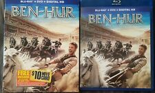 Ben-Hur 2016 (Blu-ray, DVD, Digital HD) w/ Slipcover