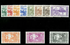 New Hebrides 1957 QEII set complete superb MNH. SG 84-94. Sc 82-92.