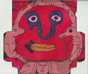 art brut art singulier outsider art - Pierre Albasser - dessin original