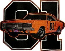 The Dukes of Hazzard Embroidered Big Patch General Lee Car 01 Logo Bo Luke Rosco