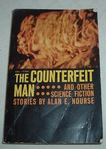 1973 THE COUNTERFEIT MAN & other Science Fiction Stories ALAN E NOURSE SBS T941