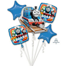 Thomas the Tank Engine Large Balloon Bouquet Thomas Train Party Decorations