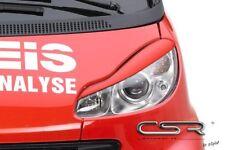 CSR Scheinwerferblenden Set Smart fortwo (Typ 451, ab 07)