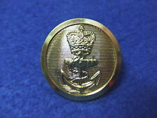 1 X ROYAL NAVY 24MM GOLD CHIEF PETTY OFFICERS BUTTONS, JACKETS/BLAZERS