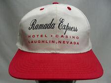 RAMADA EXPRESS - HOTEL CASINO - LAUGHLIN, NEVADA - SNAPBACK BALL CAP HAT!