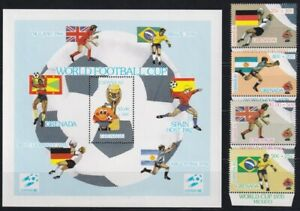 F-EX25057 GRENADA MNH 1982 SPAIN SOCCER FUTBOL CHAMPIONSHIP.