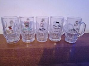 Lot De 5 Chopes Bières De Sedan 25cl Prince's Beer