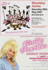 DOLLY PARTON / GIRLS ALOUD 2007 UK WEMBLEY ARENA CONCERT FLYER / HANDBILL / NMT