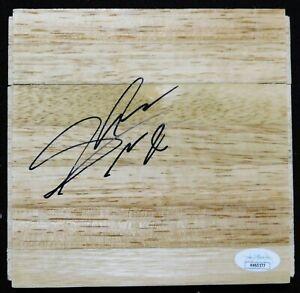 Shelvin Mack Atlanta Hawks Signed 6x6 Floorboard JSA Authenticated