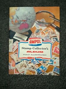 Ampol Stamp Collector's Album - as new from 1960s