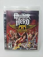 Guitar Hero: Aerosmith (Sony PlayStation 3, 2008) Brand New Factory Sealed NIB
