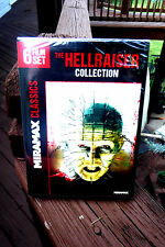 NEW/SEALED: THE HELLRAISER COLLECTION! 6 HORROR FILMS IN A 2 DVD SET + FAST SHIP