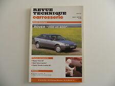 revue technique automobile carrosserie RTA ROVER 200 et 400 n° 144