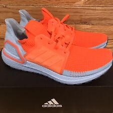 Adidas UltraBoost 19 'Solar Red Glow Blue' Shoes [G27505] Men's Size 11.5