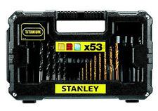 Set 53 pezzi PUNTE per FORARE ed AVVITARE STANLEY STA7223 trapano avvitatore