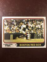 1974 Topps Carlton Fisk #105 Baseball Card / VG condition