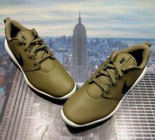 Nike Roshe G Tour Golf Cleat Shoe Medium Olive/Black Mens Size 9 AR5580 200 New