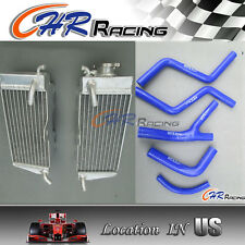 Aluminum Radiator & HOSE for Honda CR250 CR 250 R CR250R 1985 1986 1987