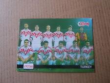 Carte - Européan Championship Stars 1996 - N°192 - Equipe de Turquie