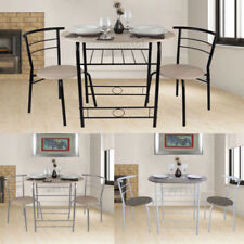 Modern MDF 3 Piece Table & Chair Sets