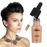 1x Pigment Waterproof Face Liquid Foundation LongLasting Whitening Makeup Liquid