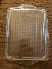 Vintage Pyrex Glass Lid 503-C Lid Only Replacement Ribbed Refrigerator Lid