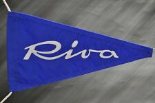 Riva boat pennant flag  1962-1996  Regular size