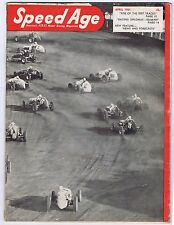 Speed Age America's FIRST Motor Racing Magazine- April 1951