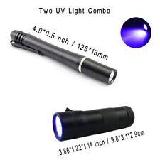 Riverruns Two UV Power Light One 12 LED Fishing UV Light + one 395nm Wavelength