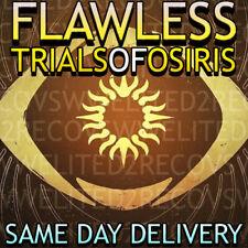 DESTINY 2 | TRIALS OF OSIRIS | X1 FLAWLESS | XBOX / PC / CROSS SAVE