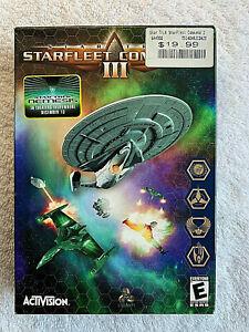 PC Star Trek Starfleet Command III 3 Starship Strategy Simulator NEW & Sealed