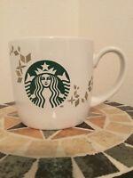 Starbucks Coffee Mug ☕️ 2013 Holiday Collection 14oz/414ml Mermaid Logo ☕️